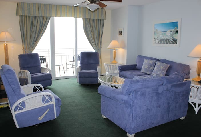 2 Bd 2 Bath Oceanfront Deluxe w/double balcony - Daytona Beach - Kondominium