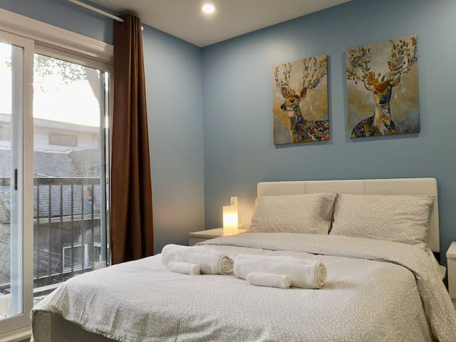 5⭐ Master Suite, Walk Out Balcony Downtown Toronto