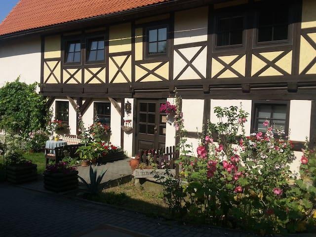 Elbhangzimmer- 370 Jahre altes Umgebindehaus - Dresden - Bed & Breakfast