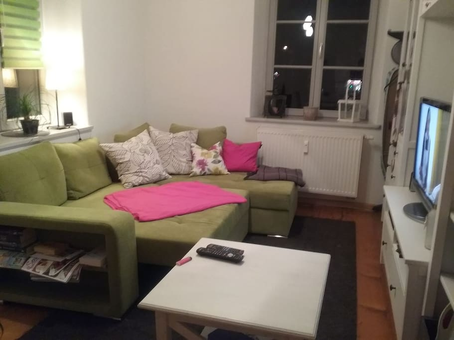 Gem tliche saubere wohnung in der innenstadt apartments for Augsburg apartments for rent