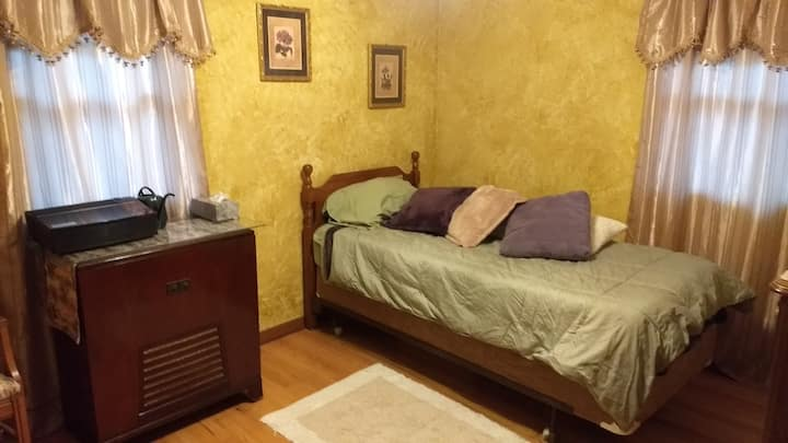 Private bedroom, access to the rest of the house.
