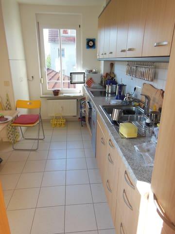 Kleines aber feines Zimmer - Neuendettelsau - Aamiaismajoitus