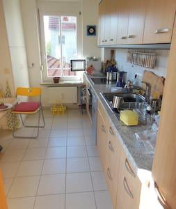 Kleines aber feines Zimmer - Neuendettelsau - ที่พักพร้อมอาหารเช้า