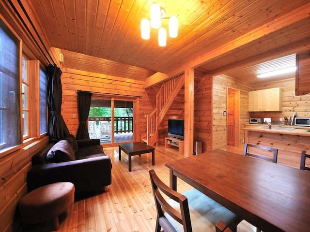 Condominium wrapped in the beautiful forest nature at the foot of Bandai Mountain【しゃくなげNO.20】