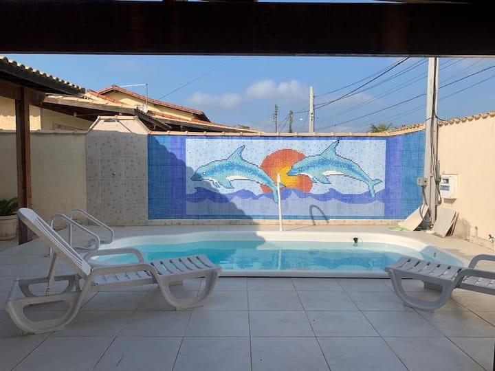 Excelente casa de praia