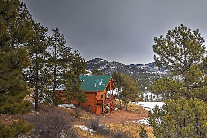 3BR Cripple Creek Cabin w/Stunning Scenery! - Cripple Creek - Cabin