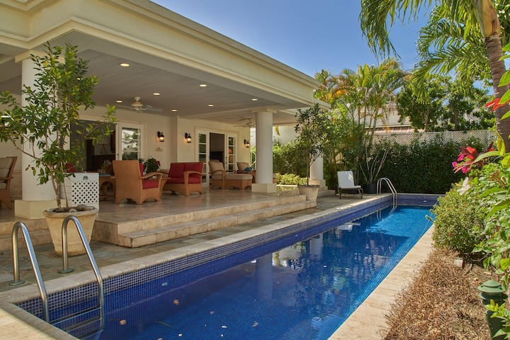 Villa Coral Breeze is a stylish villa suitable for families and children