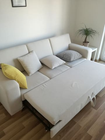 Spacey + superclean room in foody & sport flat - Bratislava - Apartamento