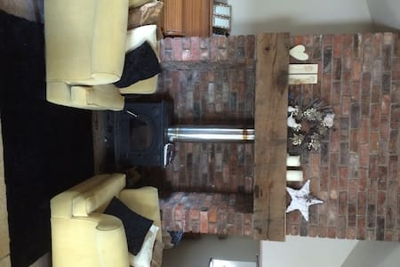 Beautiful Cosy Barn with Log Burner - Davenham