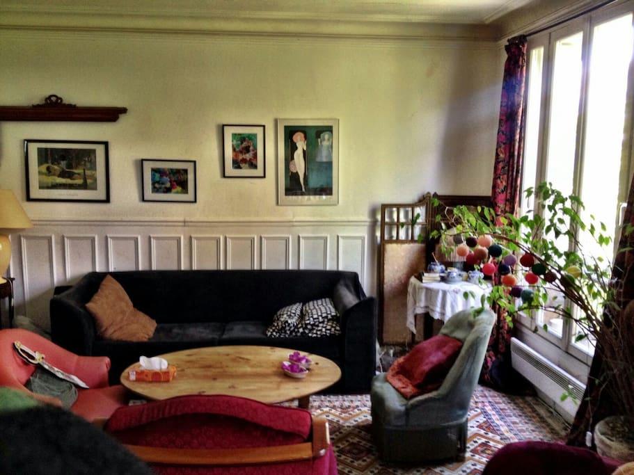 Salon côté canapé - Living room