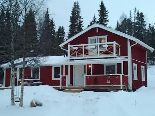 Familjevänligt hus i Vålådalen, Åre