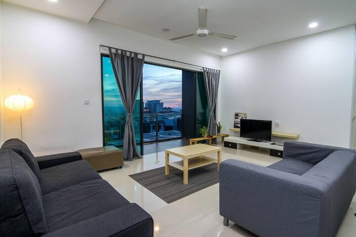 Urban and Serene Townhouse - Kuala Lumpur - Complexo de Casas