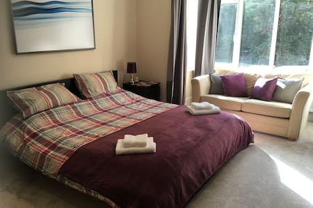 2 large comfy bedrooms ideal for 4 - Newbury