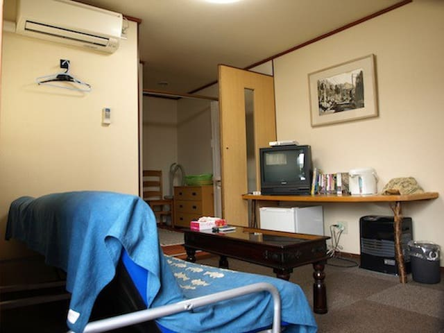 駅へ5分ワンルーム,1room reservation only for you 독립한 방,1个房 - Yufu - Gæstehus