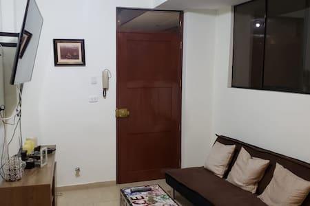 Departamento acogedor para parejas en Lima