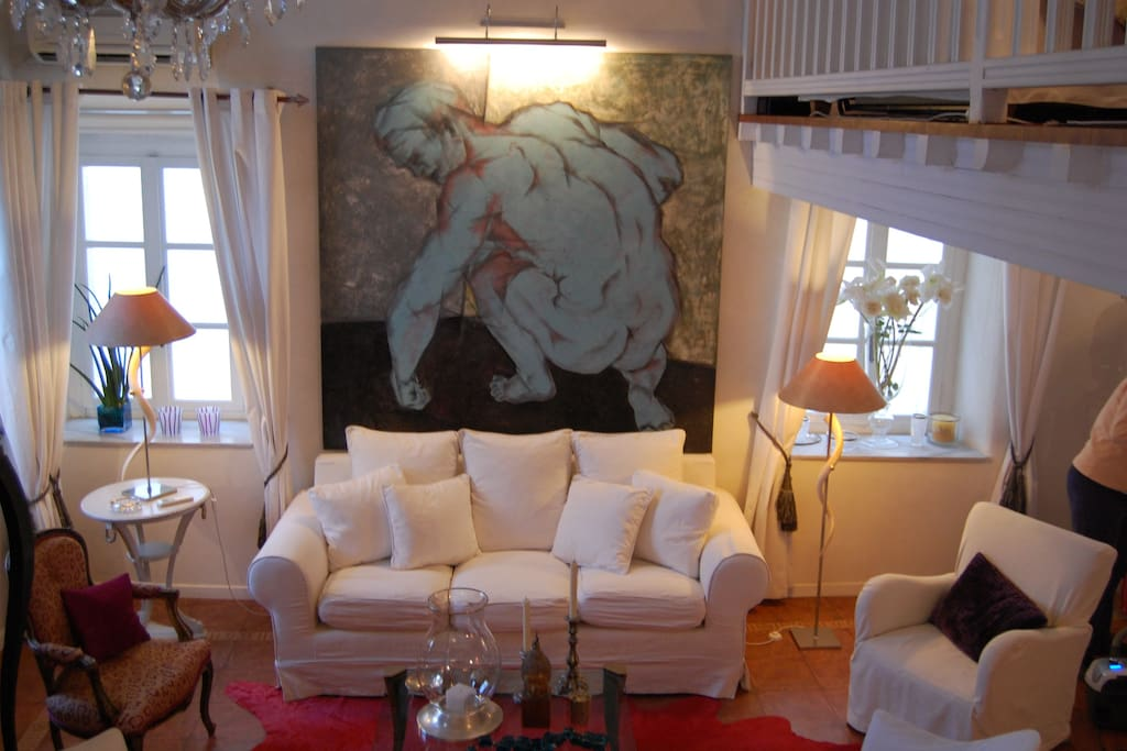Penthouse Luxury In Mykonos Old Town Apartments For Rent
