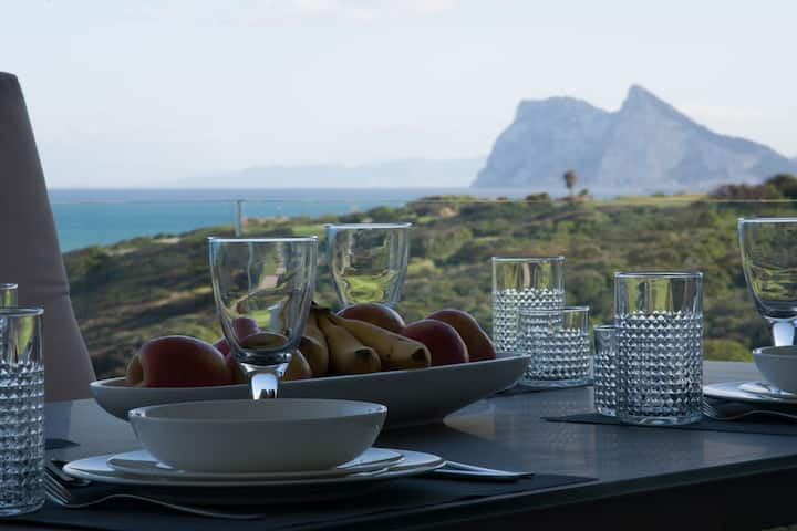 Brand New Apartment Sea, Golf and Gibraltar View