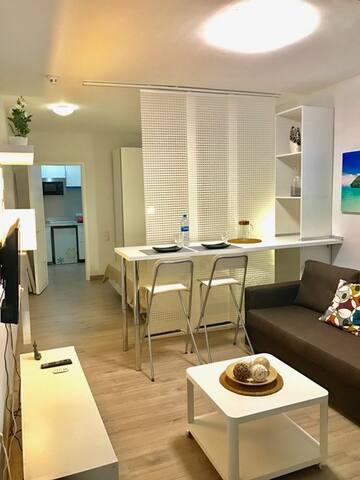 Modern flat 1 minute from beach, pool, city centre - Puerto de la Cruz - Apartment