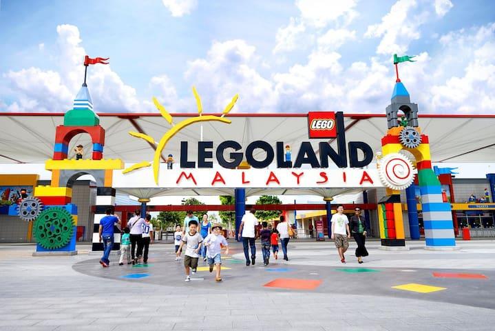 【1 Min to Legoland!】RentRadise Zen Suite【2BR!!】