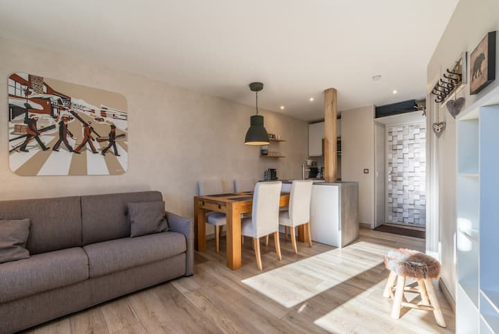 Charming apartment, ideally located, refurbished