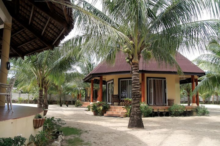 Beach-front Villa for Fun and Sun Stay in Antique