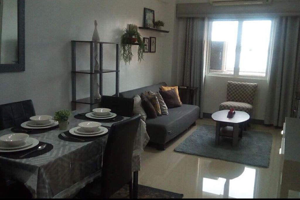 Dining ang living room area