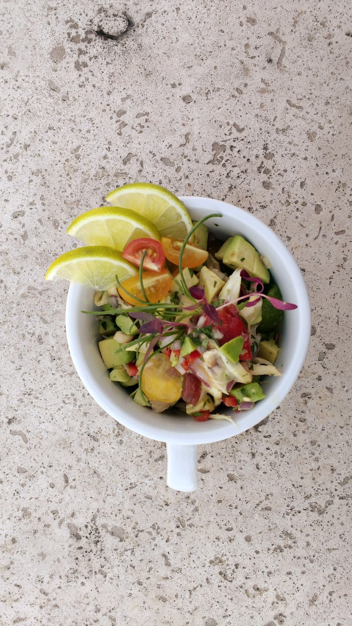 Plant Based Ceviche