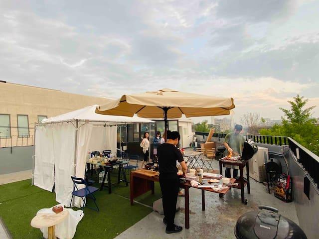 MangoMangoChaChaCha_04 #rooftop