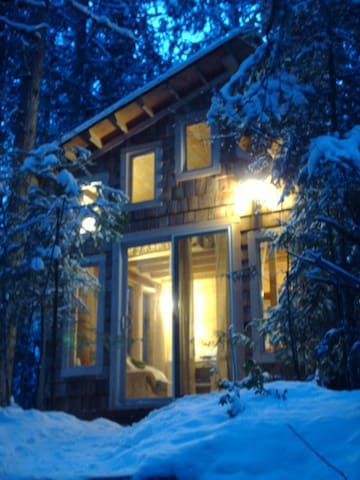 cottage in December