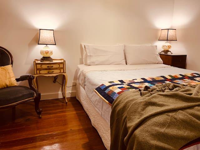 Cosy queen bedroom