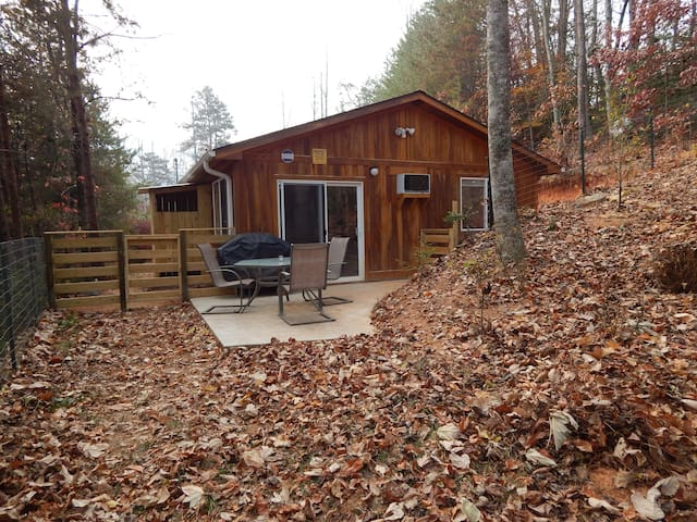 Brand new cabin: close to town, kid/pet friendly - Bryson City - Cabana