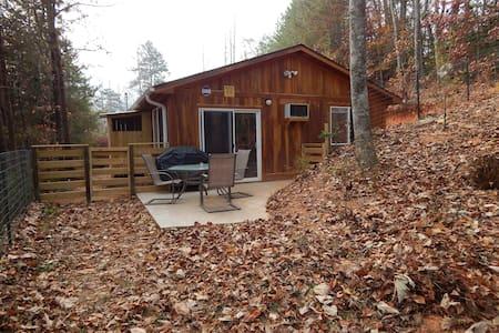 Brand new cabin: close to town, kid/pet friendly - Bryson City - Cabaña