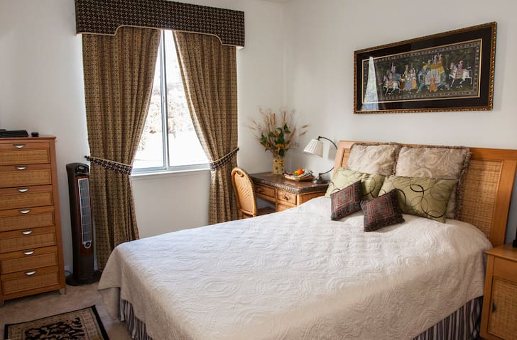 Cozy guest room in an elegant house