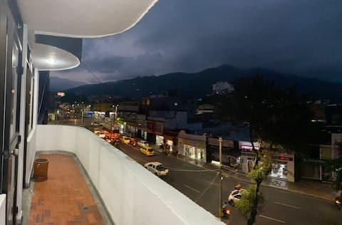 Apartamento en el centro de Ibague  vista montañas