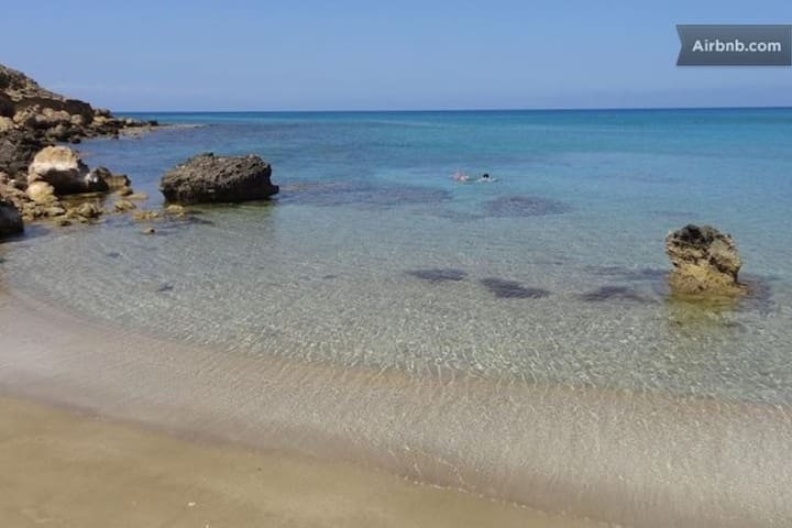 Protaras Spacious Apartment near the sea/free wifi - Paralimni - Departamento