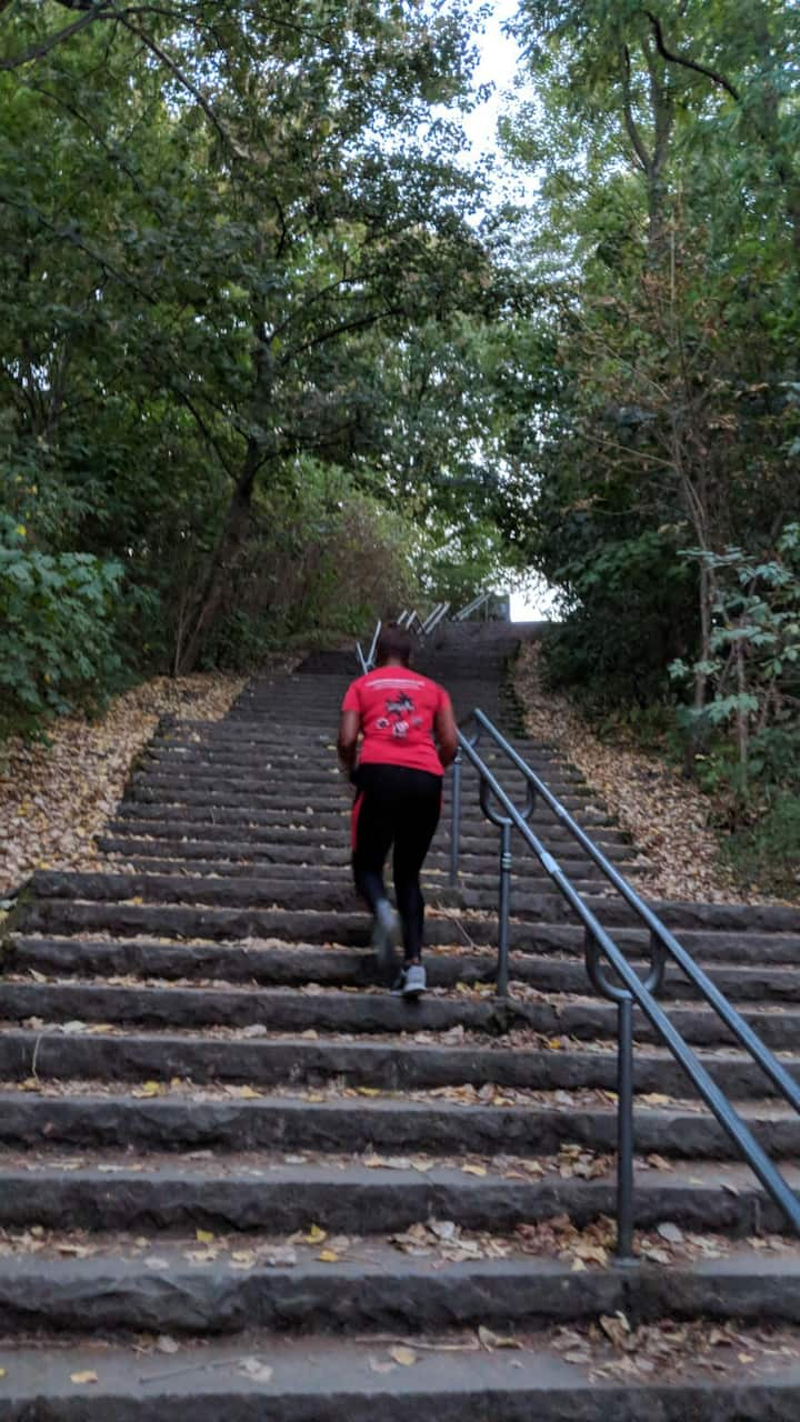 stairs challenge: earn your stripes