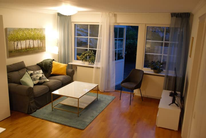 SEPARATE APARTMENT 60m2 IN OUR HOUSE IN DANDERYD