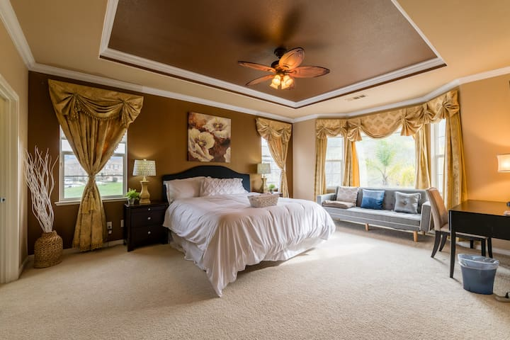 Master Suite with huge private bathroom