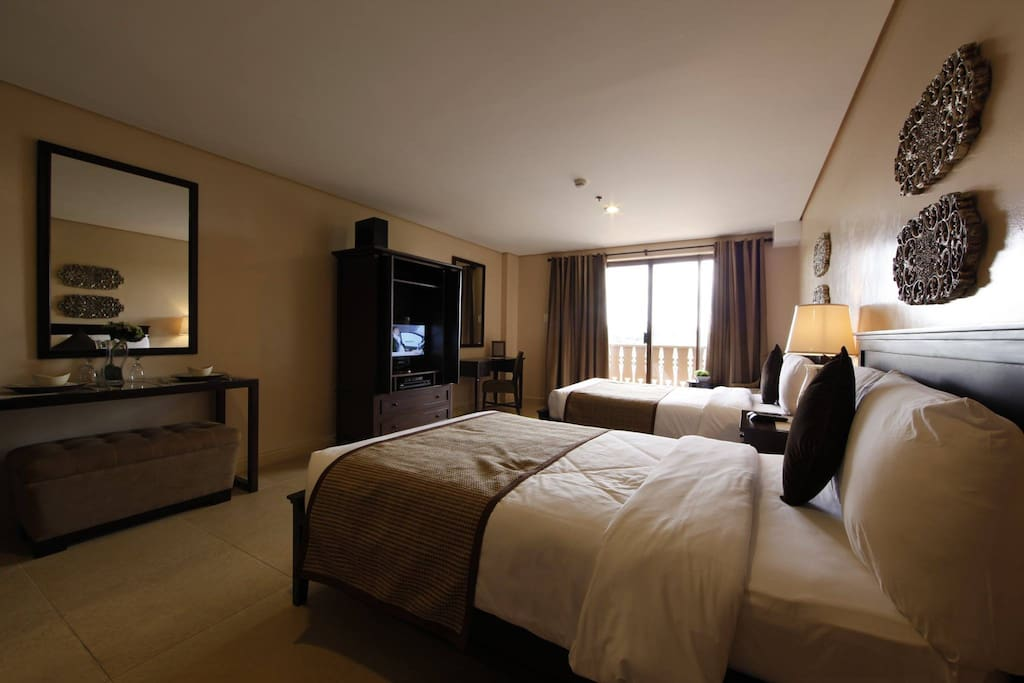 Studio Room with 2 Double Beds