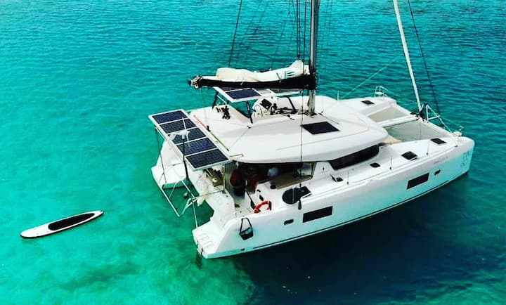 Catamaran Tango San Blas Islands