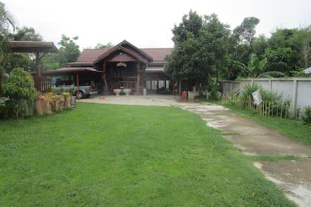 Na Chaluai Apartment im ursprünglichen Thailand