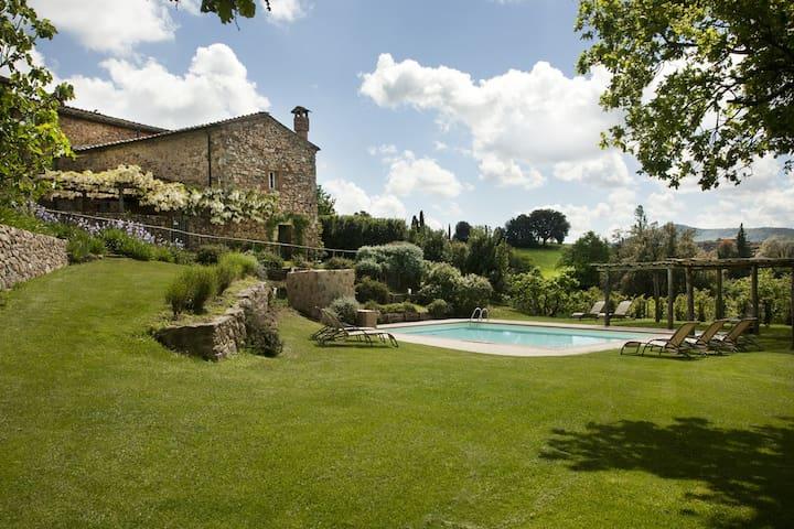 Villa 18 pax.+pool-groups/weddings - Monticiano - 別墅