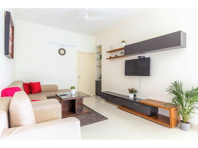 OLIVE Cozy 2 Bedroom Apartment @ Hitech City