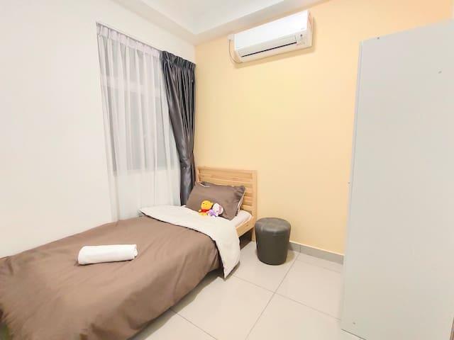 bedroom 2 - one single bed