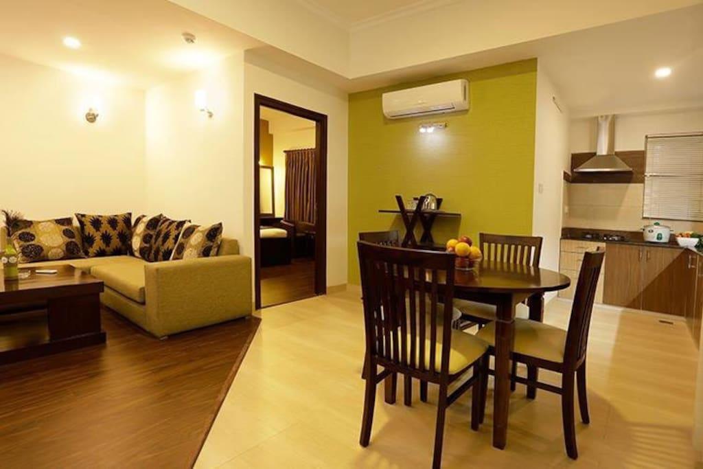 One bedroom exquisite suite.