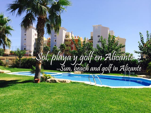 Alicante Bonalba: Sol, playa y golf junto Campello - Mutxamel - Apartment
