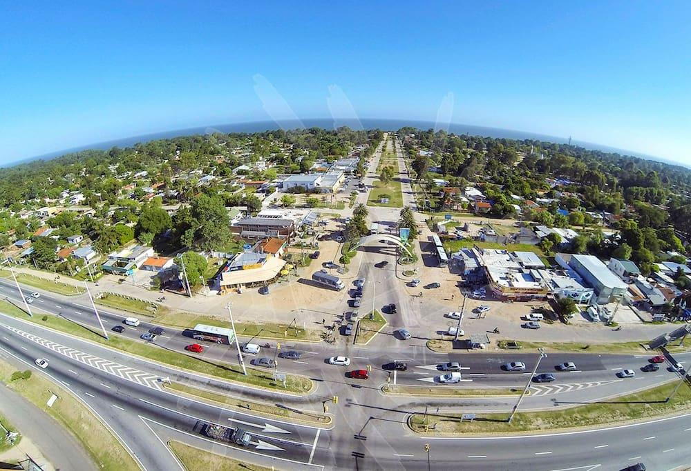 Vista aérea de Salinas