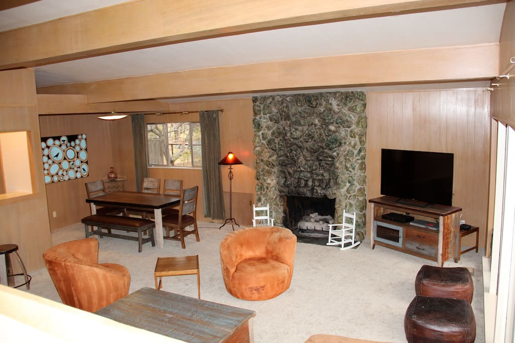 Great Room with dining room