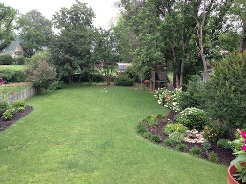 Appartement dans le jardin près d'Annapolis