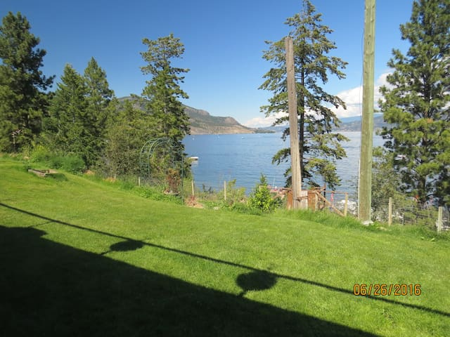 Stunning Lake View -LG Private 1 BD & Studio Suite - West Kelowna - House